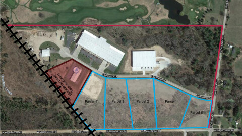 Farwell Industrial Park Parcels - 20 Acres Total