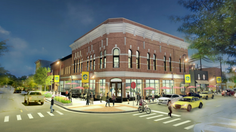Historic Downtown Opera House/Bank for Development
